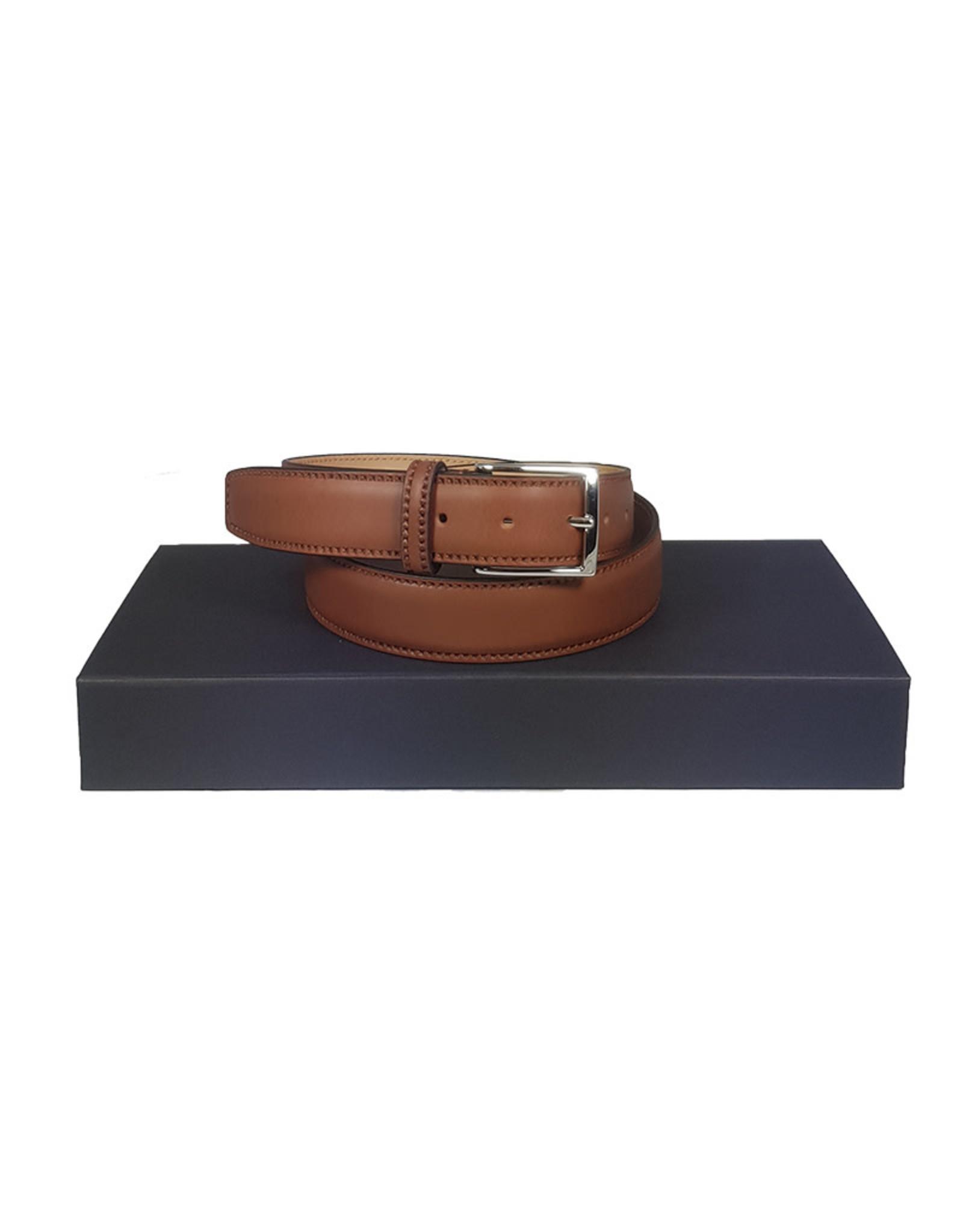 Belts+ Belts+ riem leder cognac Rio 19400/860
