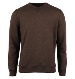Stenströms Stenströms sweatshirt O-hals bruin