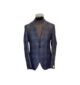 Latorre Gabiati vest blauw ruit