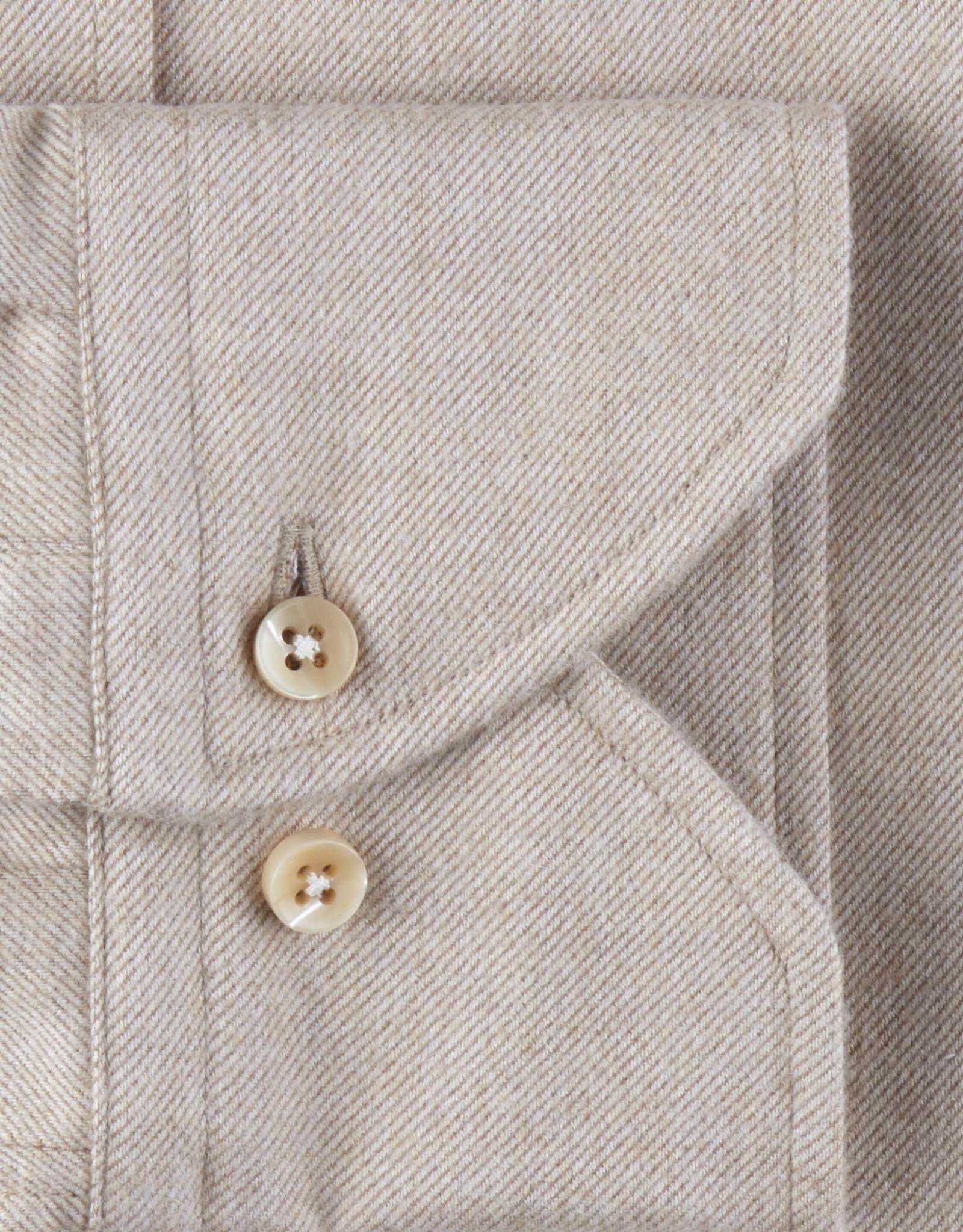 Stenströms Stenströms hemd beige Slimline 712261-7635/230