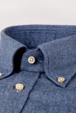 Stenströms Stenströms hemd blauw Fitted body 612261-7635/160