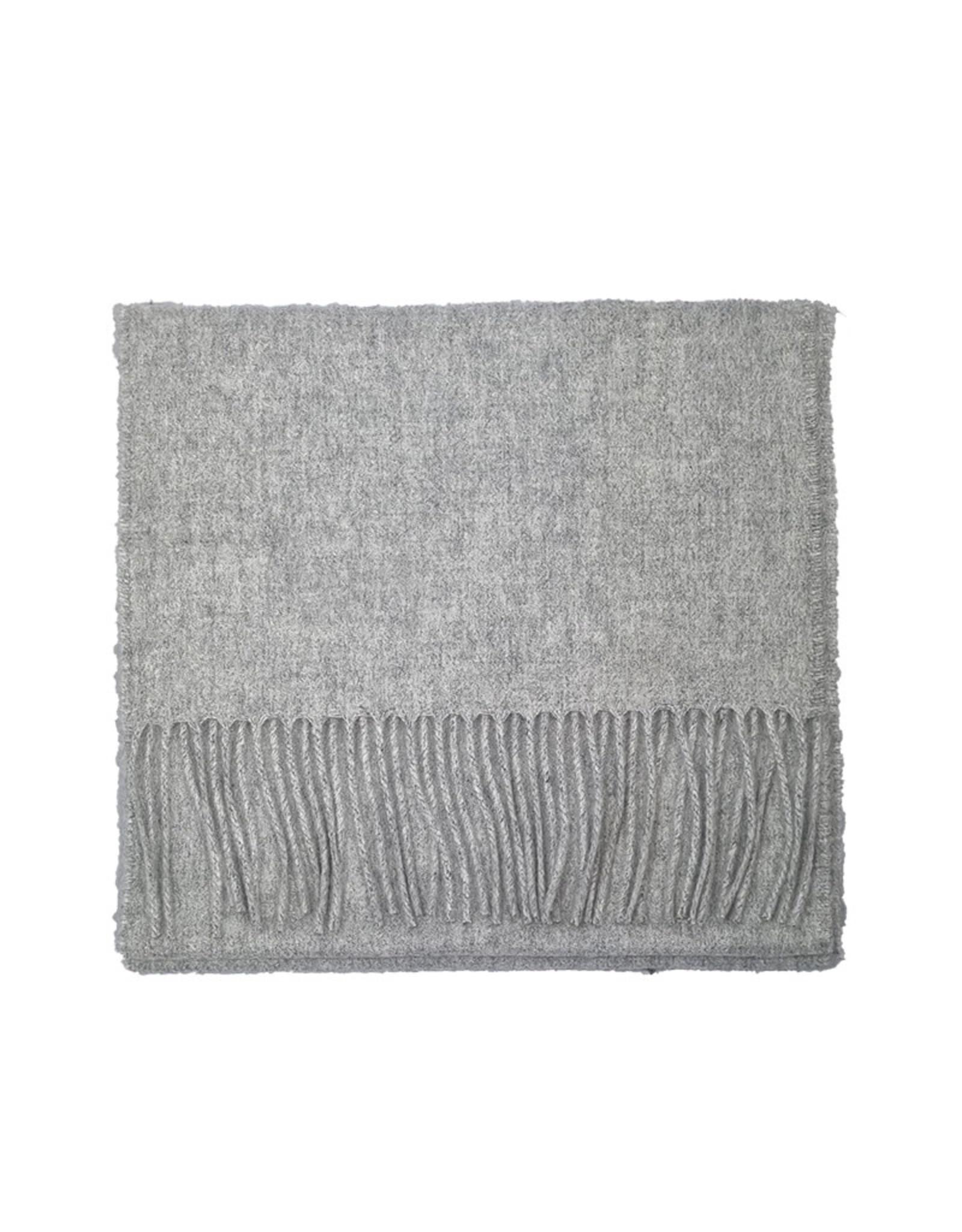 Johnstons of Elgin Johnstons of Elgin sjaal cashmere grijs