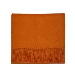 Johnstons of Elgin Johnstons of Elgin sjaal cashmere oranje