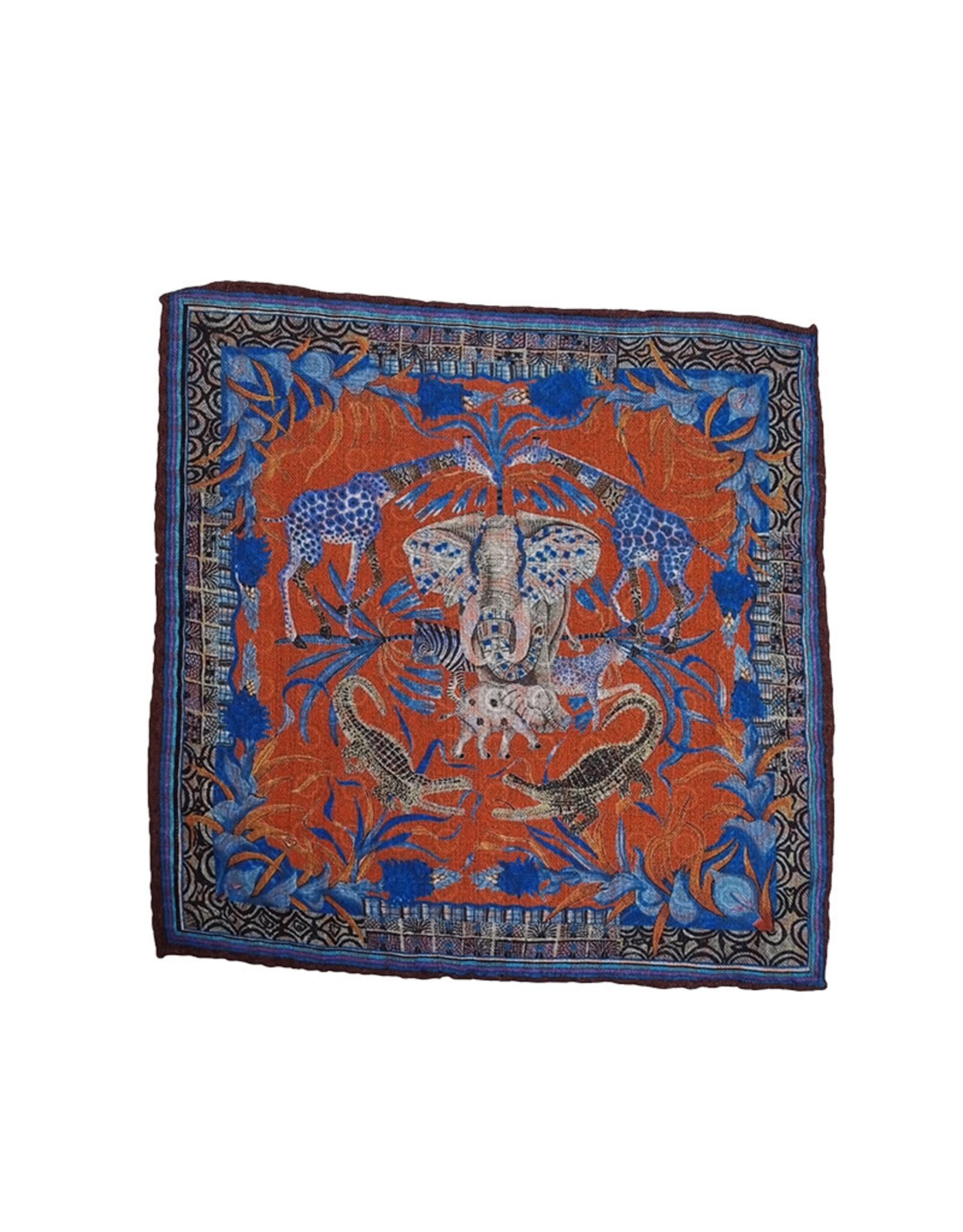 Calabrese Calabrese pochet oranje olifant 4700469/016