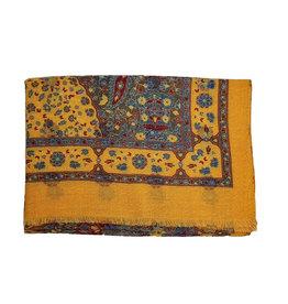 Calabrese Calabrese sjaal geel fantasie
