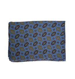 Calabrese Calabrese sjaal lichtblauw medaillon