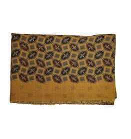 Calabrese Calabrese sjaal oker medaillon