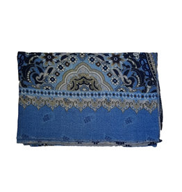 Calabrese Calabrese sjaal lichtblauw fantasie
