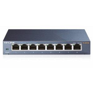 TP-Link TP-LINK TL-SG108 | Netwerk Switch | 8 poorten