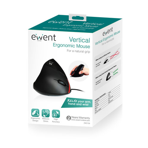 Ewent Ewent ergonomische muis