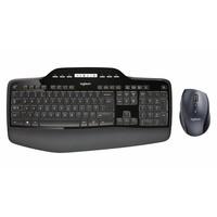 Logitech MK710 | Draadloos toetsenbord met muis | QWERTY US