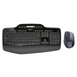 Logitech Logitech MK710 | Draadloos toetsenbord met muis | QWERTY US
