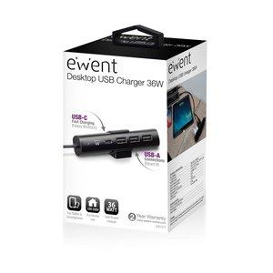 Ewent Ewent | USB Hub | 1x USB-C | 3x USB-A | Fast Charging