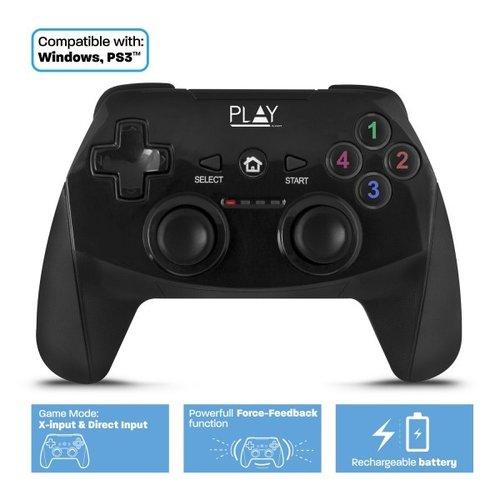 Ewent Play PL3331 | Draadloos USB Gamepad