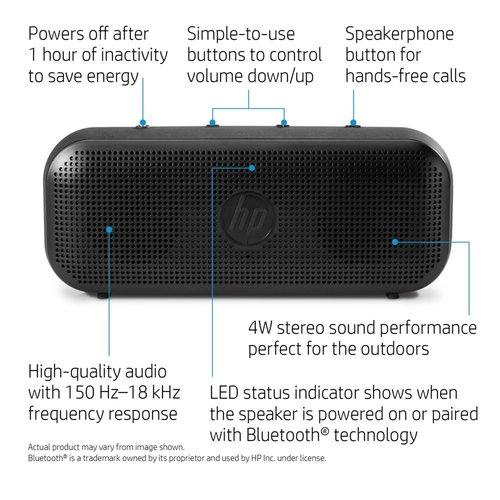 Hewlett Packard HP Bluetooth Speaker 400
