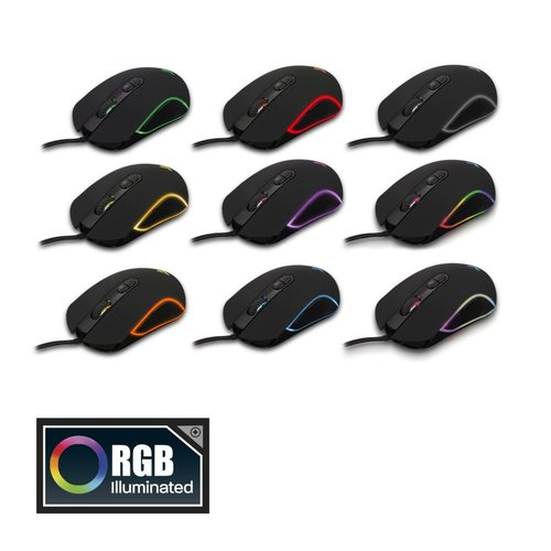 Ewent PL3301 Play Gaming RGB Muis