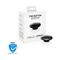FIBARO The Button - Draadloze schakelaar - Werkt alleen met Apple HomeKit - Zwart