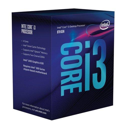 Intel Core i3-8100 processor 3,6 GHz Box 6 MB Smart Cache