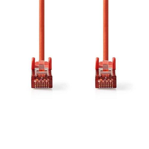 OEM S/FTP CAT6 RJ45netwerkkabel 1,0 m rood