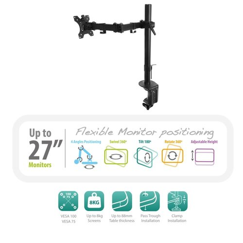 Ewent Monitor desk mount stand 1 LCD