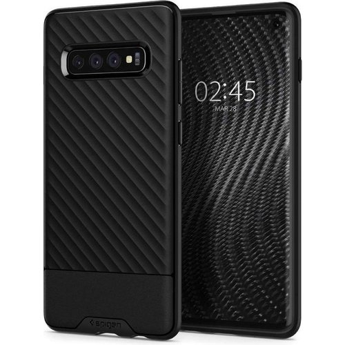 Spigen Spigen Galaxy S10 | Core Armor Hoesje | Zwart