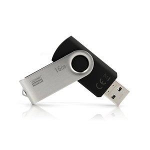 Goodram UTS3 USB flash drive 16 GB 3.0 (3.1 Gen 1) USB-Type-A-aansluiting Zwart