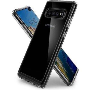 Spigen Spigen Samsung Galaxy S10+ | Crystal Hybrid hoesje | Transparant