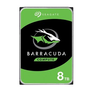 "Seagate Barracuda ST8000DM004 interne harde schijf 3.5"" 8000 GB SATA III"