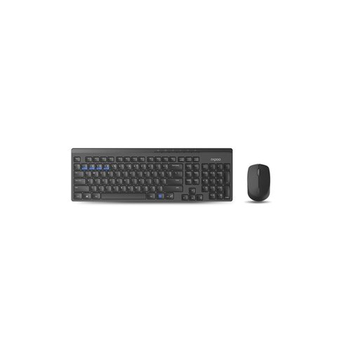 Rapoo Multi Mode combo - black RFG (refurbished)