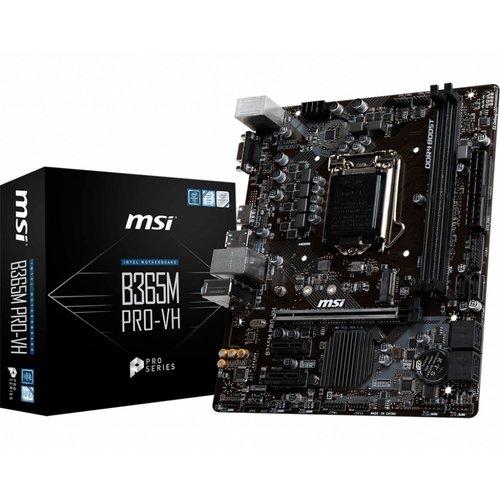 MSI MB  B365M PRO-VH 1151 8thcomp/2xDDR4/USB3/HDMI/MATX
