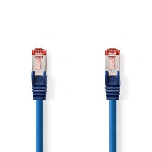 Nedis CAT6 S/FTP-netwerkkabel/RJ45 3m Blauw