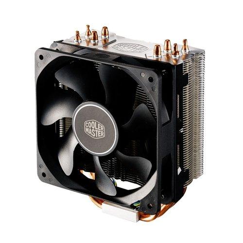 CoolerMaster Cooler Master Hyper 212X Processor Koeler 12 cm Aluminium, Zwart, Koper