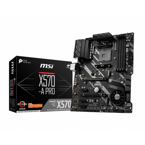 MSI MB  X570-A PRO AM4 ATX