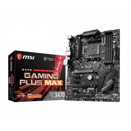 MSI X470 Gaming Plus Max moederbord Socket AM4 ATX AMD X470