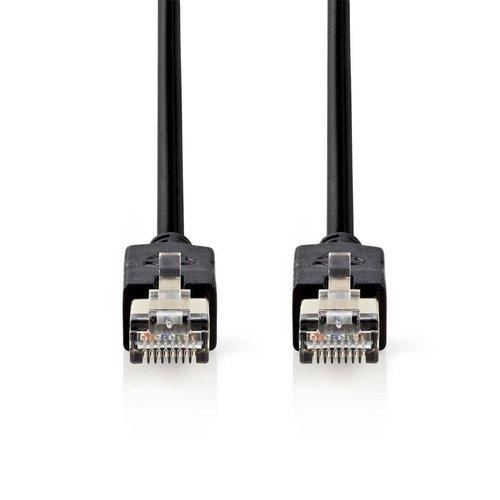 Nedis CAT6 F/UTP-netwerkkabel/RJ45 2m Antraciet