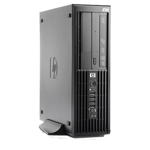 HP HP Z200 SFF | €420,- | Intel Core Xeon | Nvidia Geforce GT 610 | 4GB DDR3 | 240GB SSD