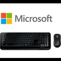 Microsoft Wireless 800 toetsenbord + muis combinatie | QWERTY |  USA + RU