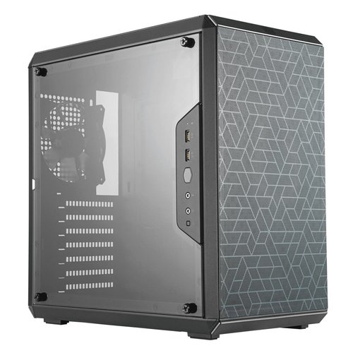 CoolerMaster Case  MasterBox Q500L MidiTower Black mATX / OUT (refurbished)
