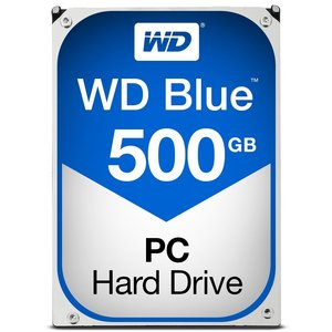 Western Digital HDD WD Blue™ 500GB - 7200rpm - 3.5inch - SATA3 PULLED