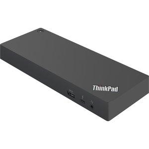 Lenovo 40AN0135EU notebook dock & poortreplicator Bedraad Thunderbolt 3 Zwart, Rood
