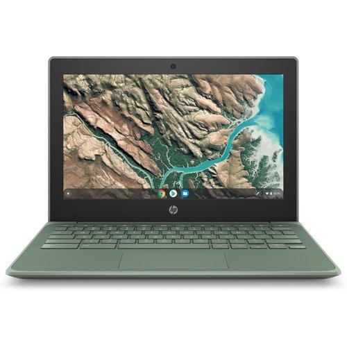 "Hewlett Packard HP Chromebook 11 G8 EE Groen 29,5 cm (11.6"") 1366 x 768 Pixels Touchscreen Intel® Celeron® N 4 GB LPDDR4-SDRAM 32 GB eMMC Wi-Fi 5 (802.11ac) Chrome OS"