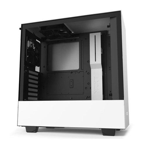 NZXT Case  H510 White / Glass window