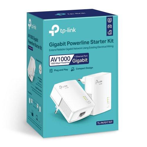 TP-Link TP-LINK TL-PA7017 KIT 1000 Mbit/s Ethernet LAN Wit 2 stuk(s)