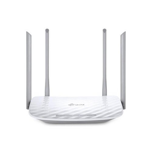 TP-Link TP-LINK Archer C50 draadloze router Dual-band (2.4 GHz / 5 GHz) Fast Ethernet Wit