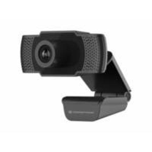 OEM Conceptronic AMDIS webcam 2 MP 1920 x 1080 Pixels USB 2.0 Zwart