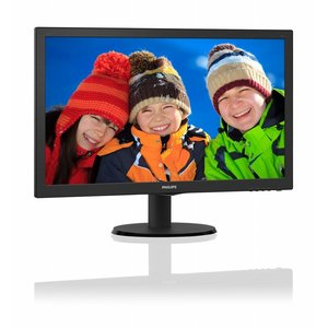 Philips Mon  21.5Inch 223V5LHSB LED / VGA / HDMI / ArtDesign (refurbished)