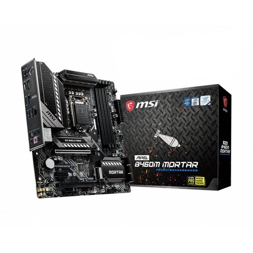 MSI MB  MAG B460M MORTAR LGA 1200 micro ATX Intel B460