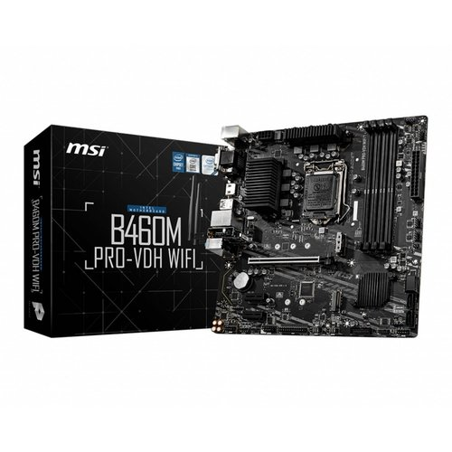 MSI B460M PRO-VDH WIFI LGA 1200 micro ATX Intel B460