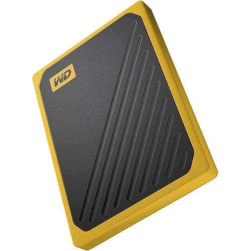 Western Digital HDD Ext  My Passport Go 500 GB Zwart, Geel