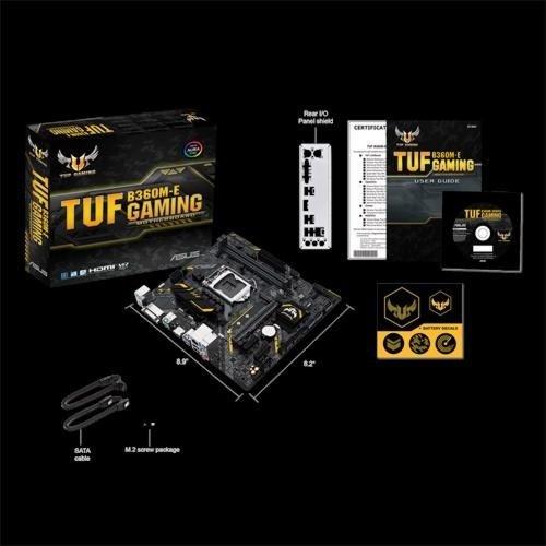 Asus MB  TUF B360M-E Gaming / 1151 8th comp / M.2 / mATX
